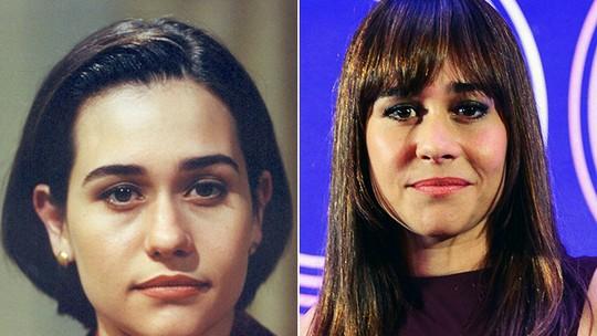 Alessandra Negrini recorda trabalho com Gloria Pires em 'Anjo Mau': 'Fomos muito felizes'