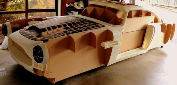 Neozelandês recria Aston Martin DB4 1961 com impressora 3D (Foto: Reprodução)