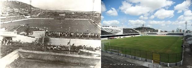 Estádio Luiz José de Lacerda (Foto: Acervo/Fafica/Lafaete Vaz/G1)