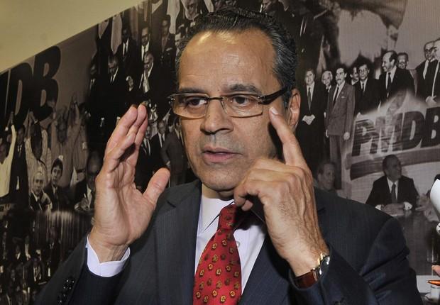 O ex-ministro e ex-presidente da Câmara, Henrique Eduardo Alves (Foto: José Cruz/Agência Brasil)