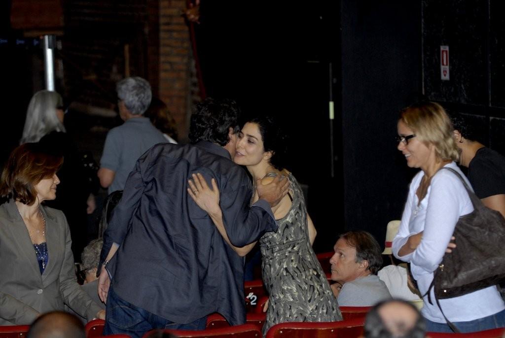 Letícia Sabatella e Giulia Gam (Foto: Roberto Valverde/Revista QUEM)