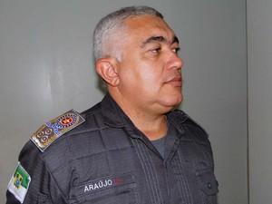 Coronel Francisco Araújo, comandante geral da Polícia Militar do Rio Grande do Norte (Foto: Ricardo Araújo/G1)