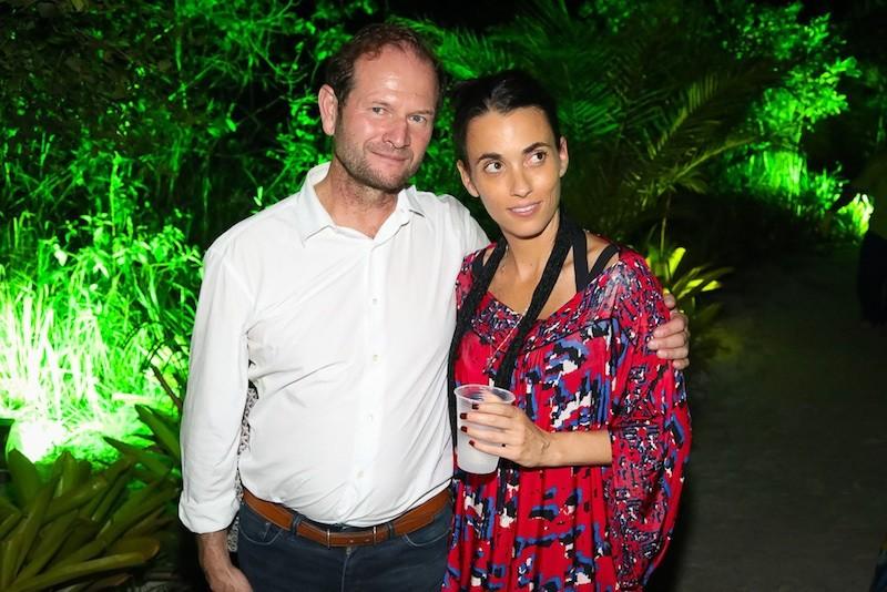 Pierre Lurton e Alexandra Forbes (Foto: André Ligeiro)
