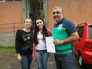 Mylena recebeu doações de diversas instituições (Foto: Arquivo Pessoal)