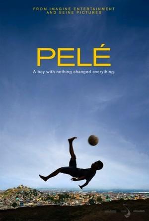 Cartaz do filme sobre a vida de Pelé (Foto: Reprodução)