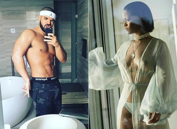 Drake e Rihanna (Foto: Reprodução)