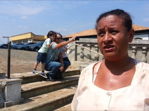 Maria da Silva não sabia que Belchior aconselhou dom Pedro I (Foto: Ricardo Welbert/G1)