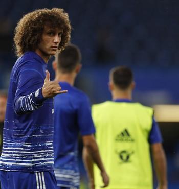 David Luiz Chelsea x Liverpool (Foto: Reuters)
