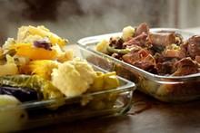 'Tempero de Família' - cozido de legumes com carne e pirão