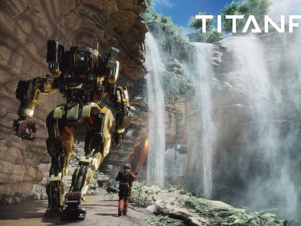 Campanha de 'Titanfall 2' valoriza a navegação pelos cenários e o uso de todas as habilidades do piloto, e não somente tiroteios (Foto: Divulgação/EA)