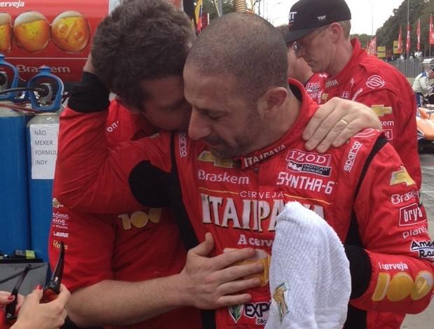 Tony Kanaan após corrida da Indy em São Paulo (Foto: Alexander Grünwald / GLOBOESPORTE.COM)