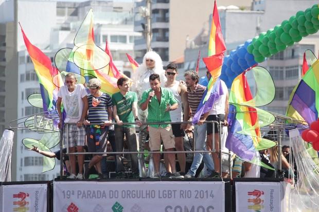 Parada gay no Rio (Foto: Fabio Moreno/Fotorio News)