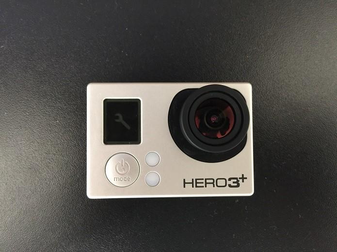 Acesse o menu de configurações da GoPro (Foto: Reprodução/Thiago Barros)