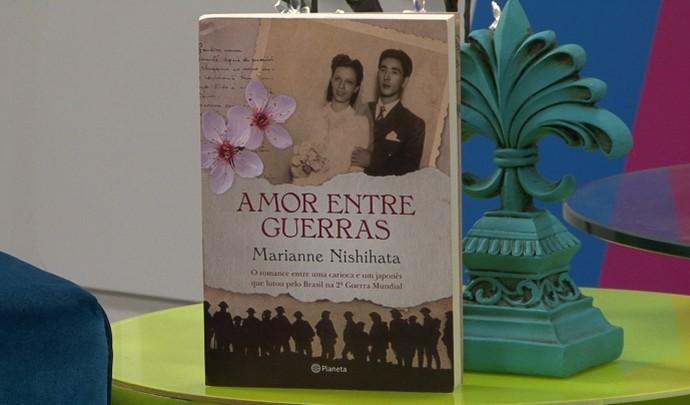 Romance japonês que nasceu em Mogi das Cruzes   (Foto: Reprodução / TV Diário )