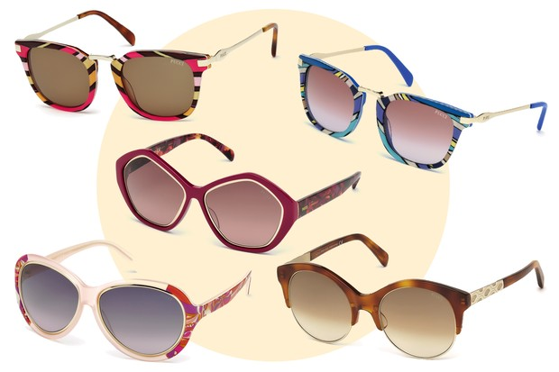 Óculos Emilio Pucci (Foto: Reprodução)