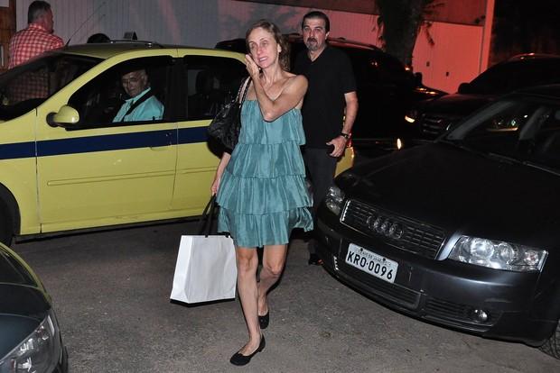 Betty Gofman no aniversário de Regina Casé no Rio (Foto: Roberto Teixeira/ EGO)