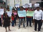 Famílias protestam contra despejo em área ocupada há 40 anos em Cutias