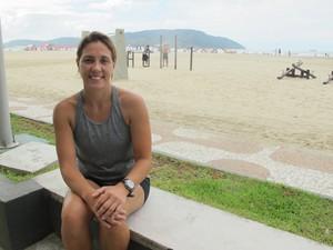 Professora de Educação Física Márcia Regina de Oliveira (Foto: Mariane Rossi/G1)