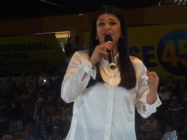 Professora Rose (PSDB) Campo Grande (Foto: Priscilla dos Santos/ G1 MS)