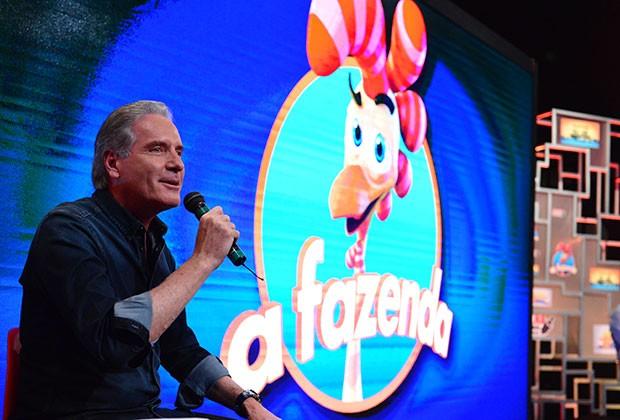 'A Fazenda': Roberto Justus seguirá no comando (Foto: Divulgação/Record)