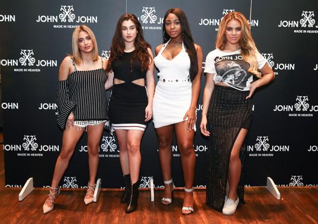 Ally Brooke, Lauren Jauregui, Normani Kordei e Dinah Jane (Foto: Manuela Scarpa/Brazil News)