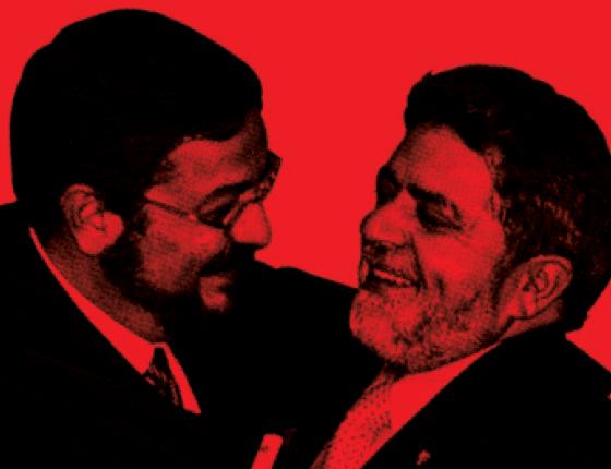 Palocci e Lula  (Foto: Evaristo SA/AFP)