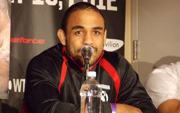 Rafael Feijão, lutador de MMA do Strikeforce (Foto: Adriano Albuquerque/SporTV.com)