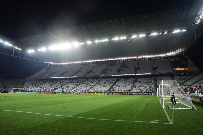 Corinthians x Palmeiras Arena Corinthians (Foto: Marcos Ribolli)