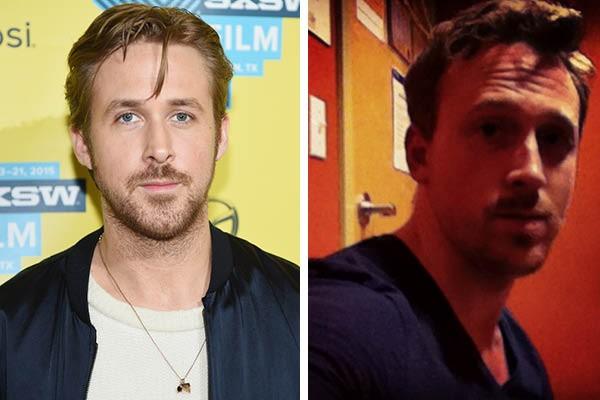 Ryan Gosling e Robert McKinnon (Foto: Getty Images//Reprodução)