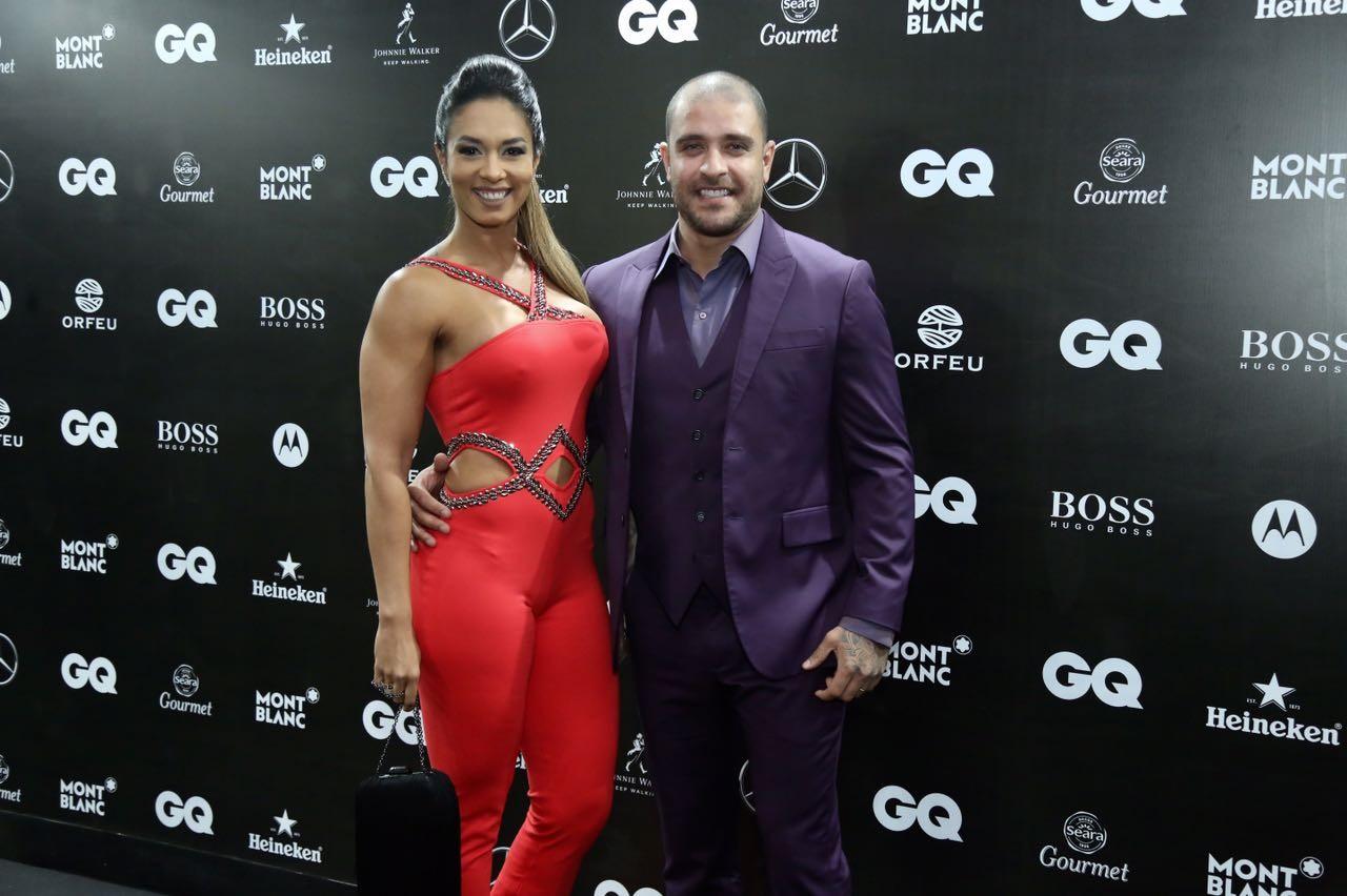 Diogo e Milena Nogueira (Foto: GQ)