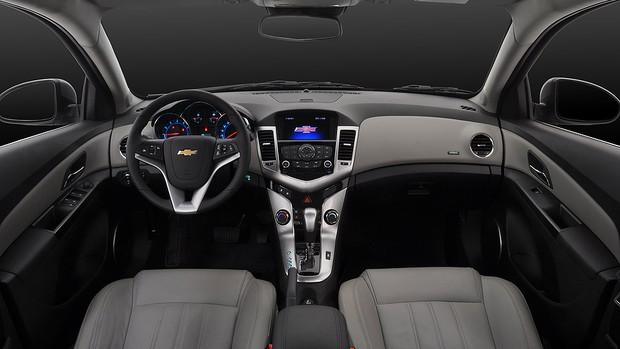 Veja fotos do Chevrolet Cruze