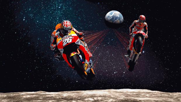"""BLOG: Mundial de Motovelocidade - """"Quanto tempo um piloto de MotoGP levaria para ir da Terra à Lua?"""" - artigo de Box Repsol..."""