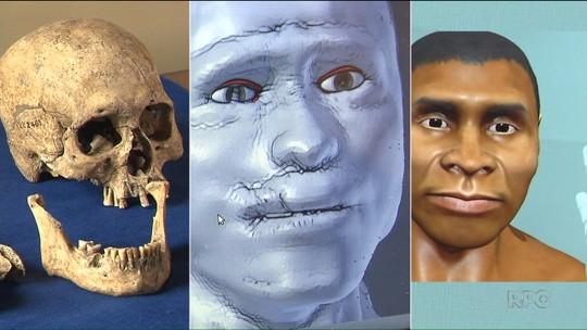 Museu em Curitiba abre exposição 'Gufan, o paranaense de dois mil anos'