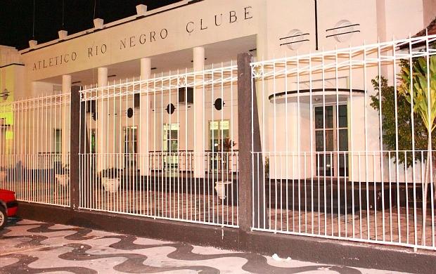 Sede Social do Clube (Foto: Adeilson Albuquerque/GLOBOESPORTE.COM)