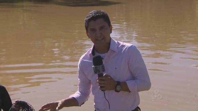 'Amazônia, conhecer para amar' mostra como o pirarucu é criado (Foto: Reprodução/TV Amapá)