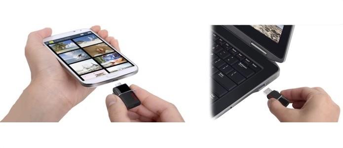 Pendrives transferem arquivos rapidamente entre smart e PC (Foto: Reprodução/Creative Commons)