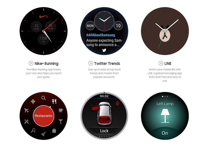 Gear S2 vem com aplicativos completos para o dia a dia (Foto: Divulgação/Samsung)