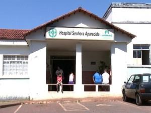 Hospital Senhora Aparecida Luz MG (Foto: Reprodução/TV Integração)