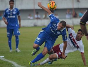Confiança x Jacuipense (Foto: Felipe Martins/GloboEsporte.com)