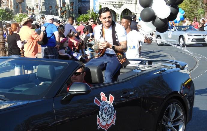 Fagner Corinthians Disney (Foto: Marcelo Braga)