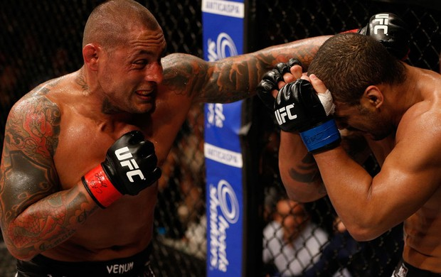 MMA thiago silva e Rafael Feijão (Foto: Agência Getty Images)