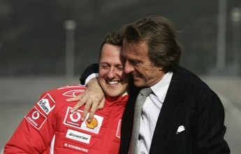 """Ex-presidente da Ferrari afirma que notícias sobre Schumi """"não são boas"""""""