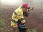 Durante temporal, pai usa o corpo para proteger filho do granizo no Paraná
