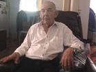 Inspetor aposentado faz 101 anos e visita delegacia todos os dias, em GO