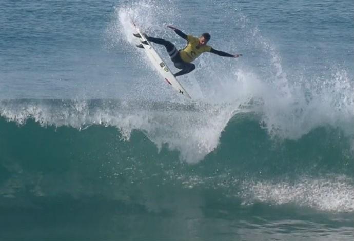 Filipe Toledo, Bells Beach, aéreo, surfe (Foto: Reprodução/WSL)