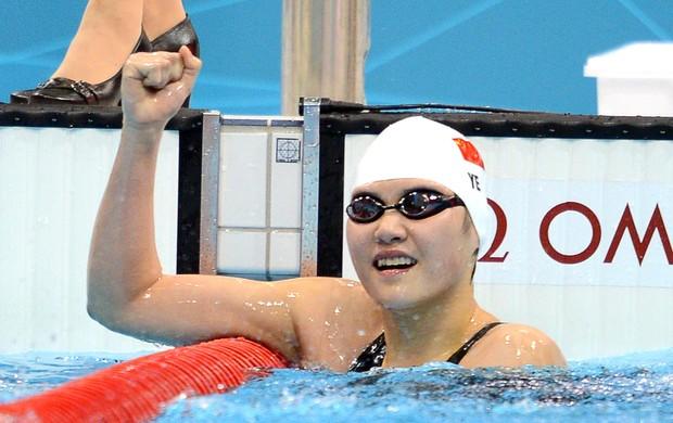 chinesa Shiwen ye (Foto: Agência AFP)