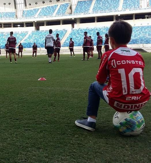 esperança alvirrubra (Jocaff Souza/GloboEsporte.com)