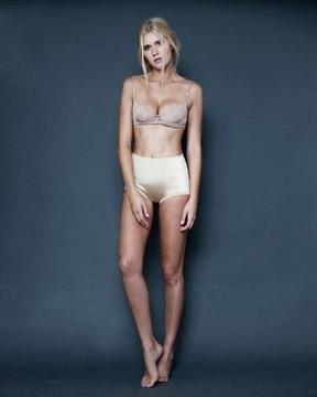 modelo Celina Locks (Foto: Ford Models/ Reprodução)