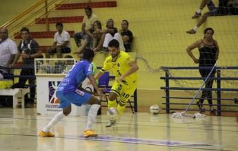 Futsal de Dracena goleia na estreia do Paulistão e técnico se surpreende
