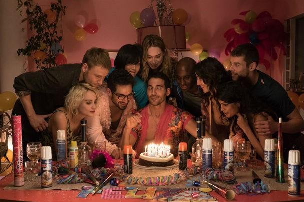 Eis os oito protagonistas da série Sense8, do Netflix (olha o Miguel Ángel bem ao centro) (Foto: Divulgação)